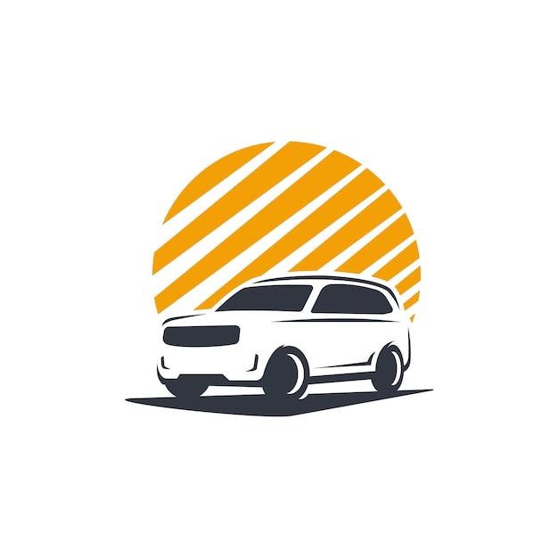 Premium Vector Family Car Logo Silhouette