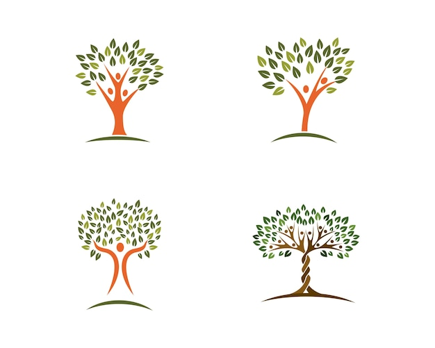 Family Tree Logo Design Template Vector Premium Download