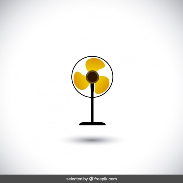 Fan isolated Free Vector