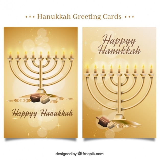 Fantastic hanukkah greeting cards with shiny forms vector free fantastic hanukkah greeting cards with shiny forms free vector m4hsunfo