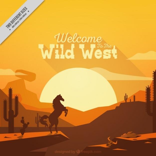 Wild West  Graphic Design