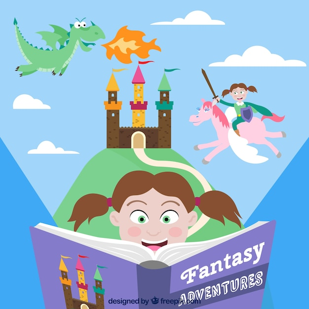 Fantasy adventure book