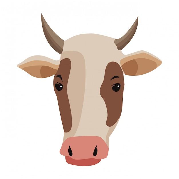Farm, animals and farmer cartoon Premium Vector