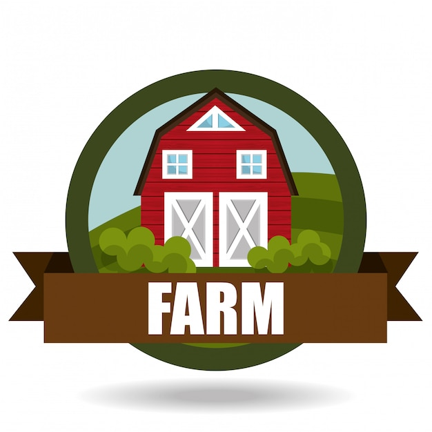 Farm fresh Free Vector