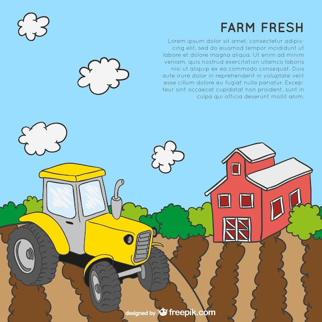 Farm theme template Vector | Free Download