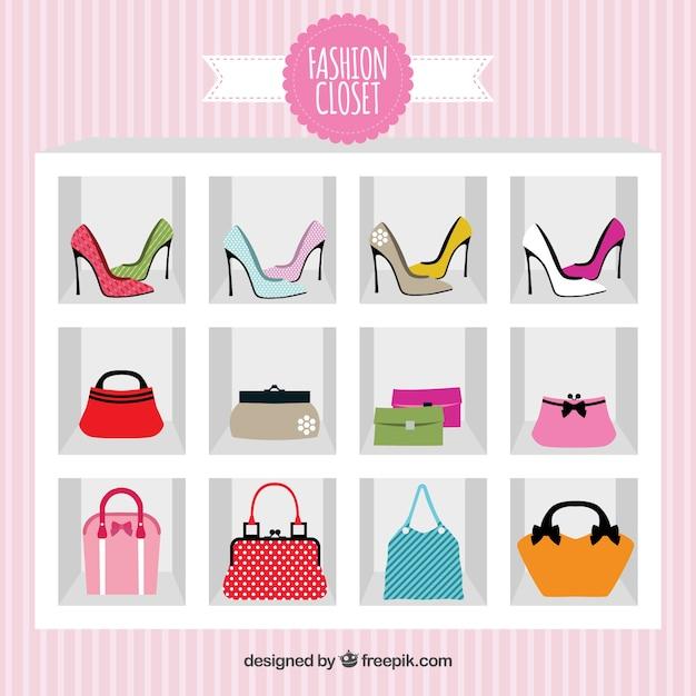 Fashion closet Free Vector