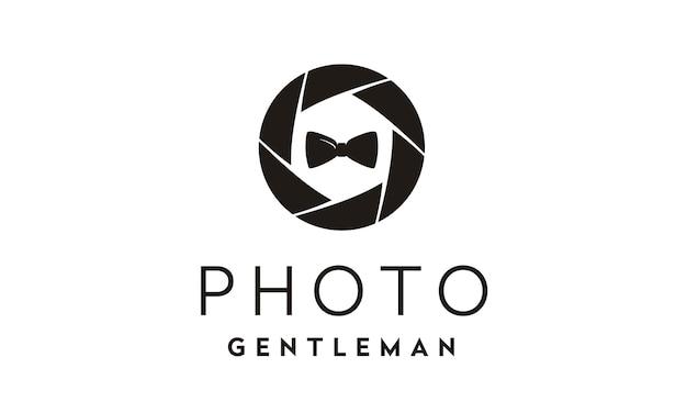 Fashion photographer logo design inspiration Premium Vector