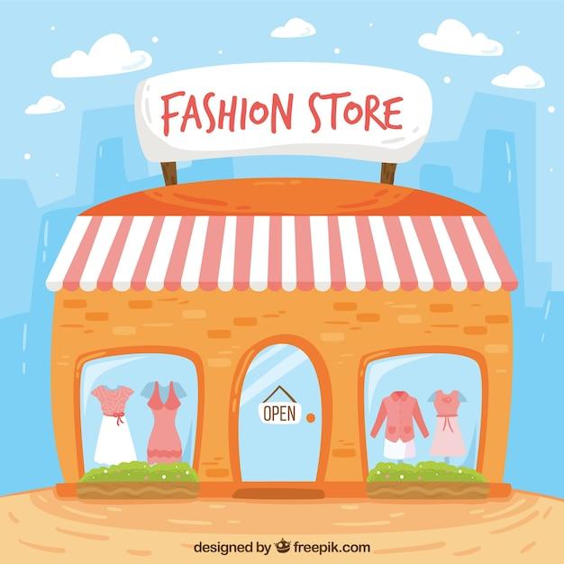 فروشگاه مد نما در سبک پرنعمت