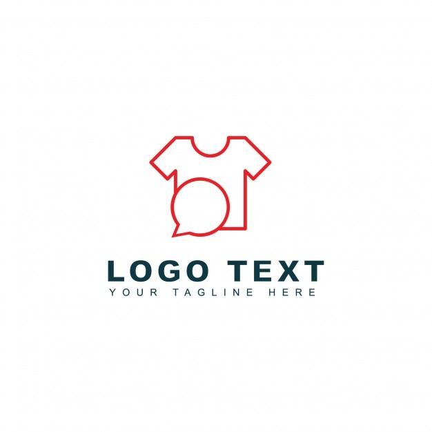 Fashion talk logo Free Vector