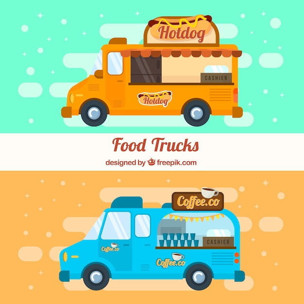 Fast food and food trucks