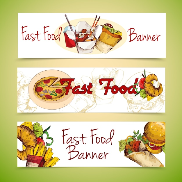 chinese food banner design - photo #21