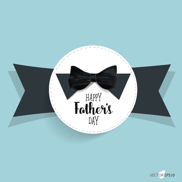 Father\'s day and bow tie background