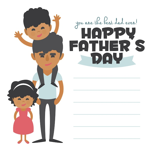 Father\'s day background design