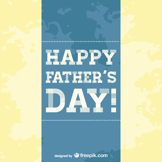 Father\'s day card template