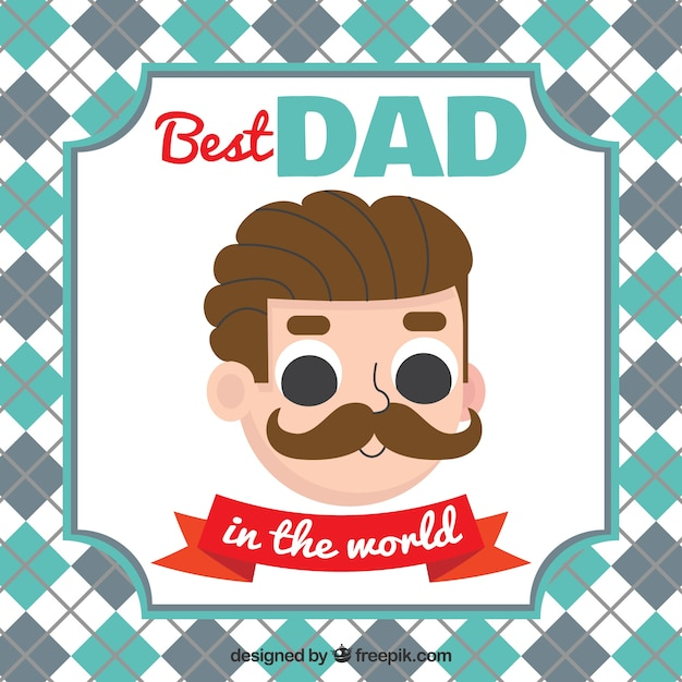 Fathers day greeting card vector free download fathers day greeting card free vector m4hsunfo