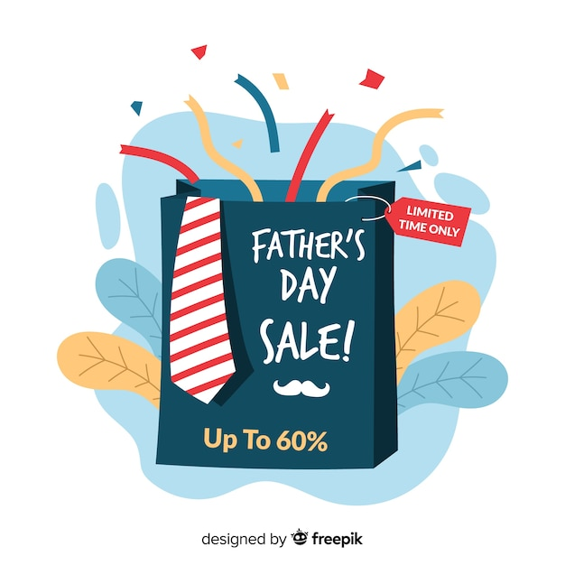 Father's day sale Free Vector