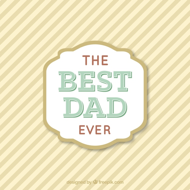Father\'s day vector