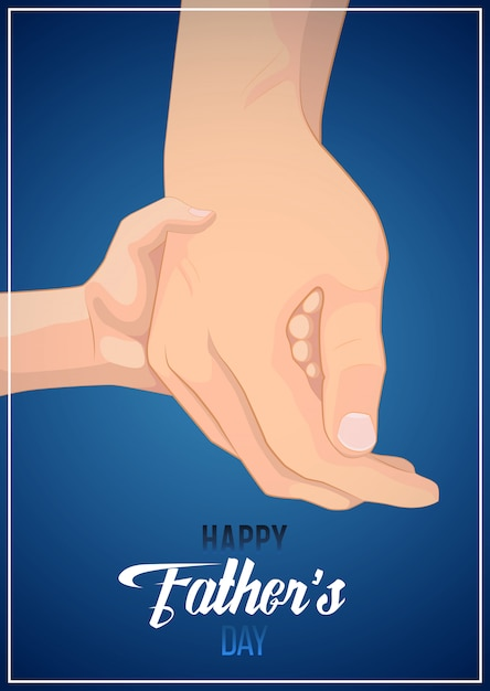 Father's day Premium Vector