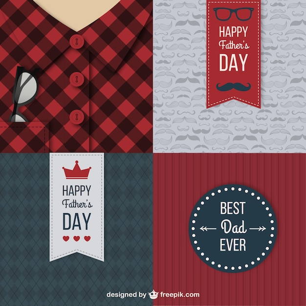 Fathers day cards pack
