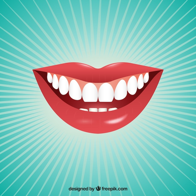 Female mouth Free Vector
