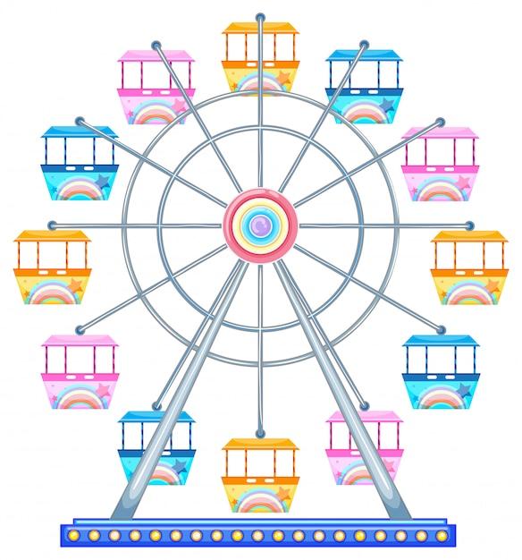 Ferris wheel Free Vector