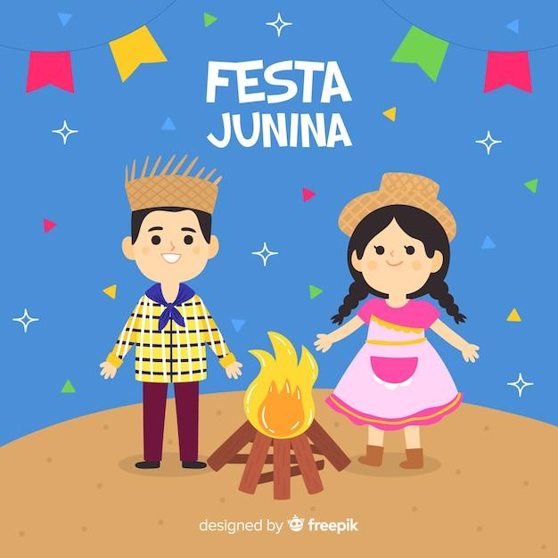 Festa junina Free Vector