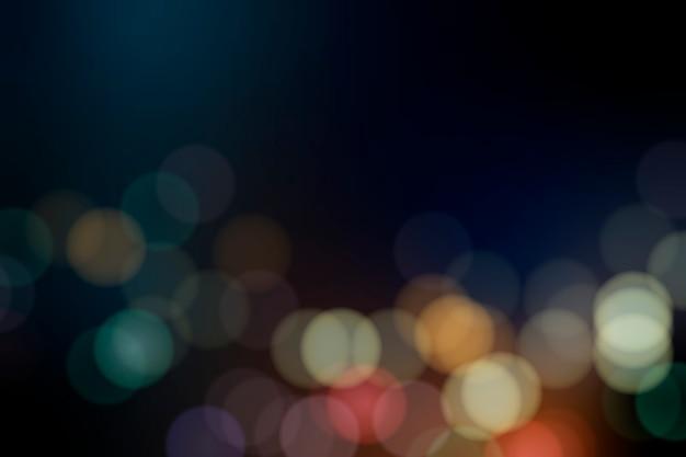 Festive blurred lights Free Vector