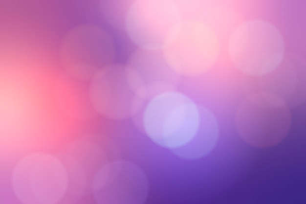 Festive blurred lights Free Vector