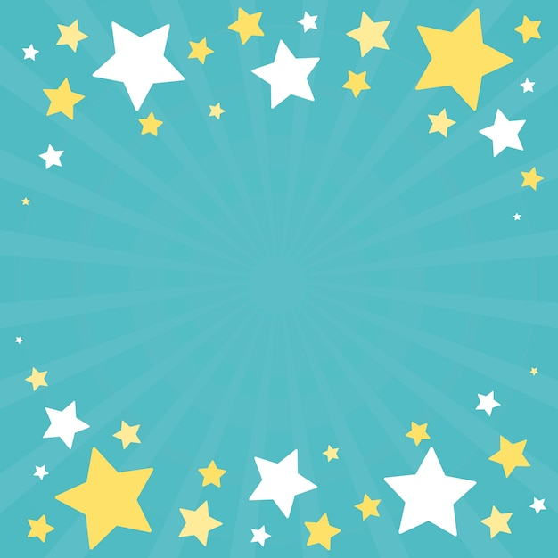 Vettore festivo di progettazione del fondo delle stelle Vettore gratuito