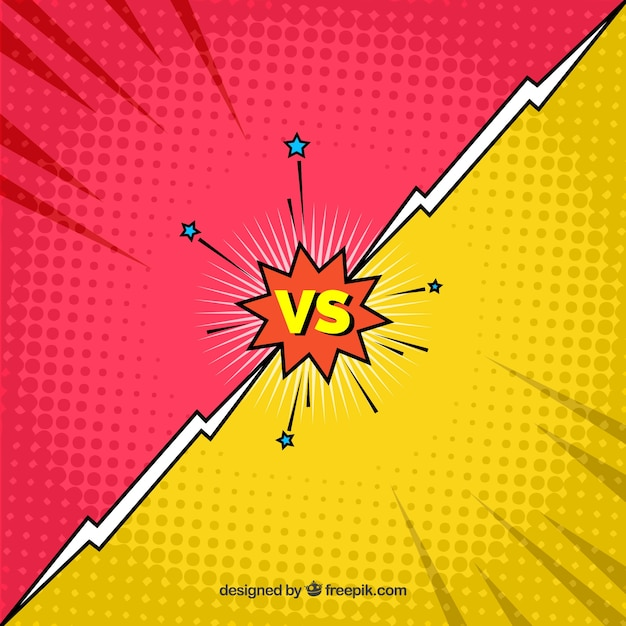 Fight backgroung with video game style Free Vector