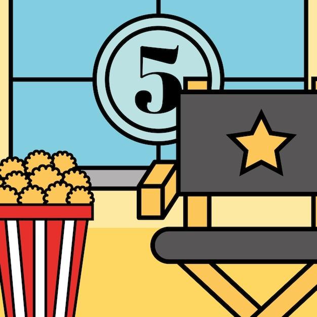 Film movie cinema Premium Vector