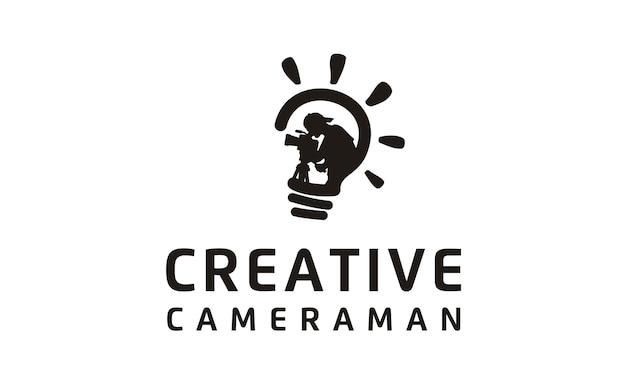 Film / movie / video / cinematography logo Premium Vector