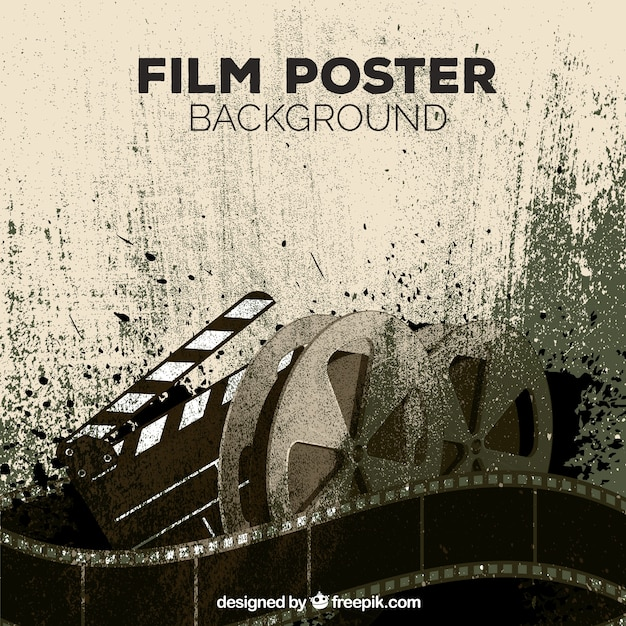 Film Poster Vector Free Download