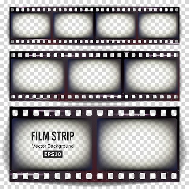 Film strip Premium Vector