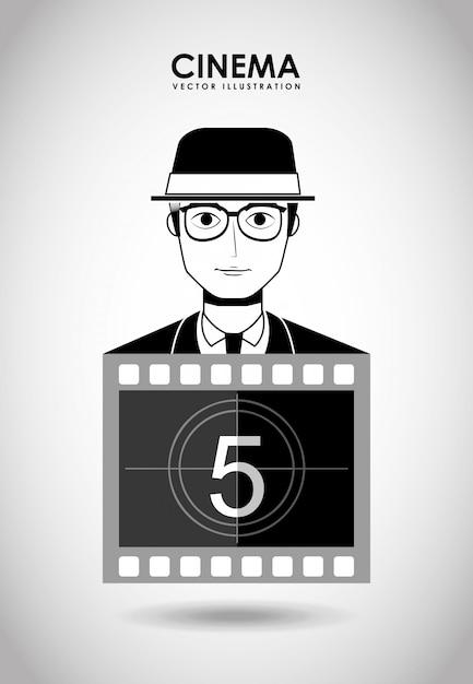 Filmed entertainment Premium Vector