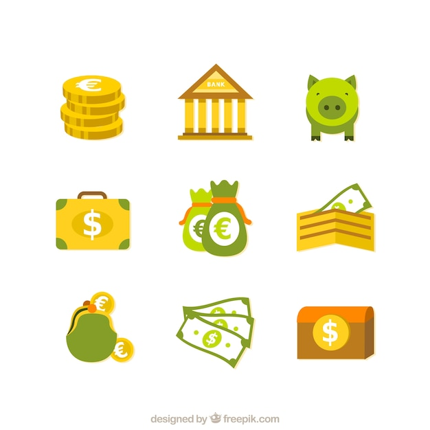 Free Vector | Finance icons