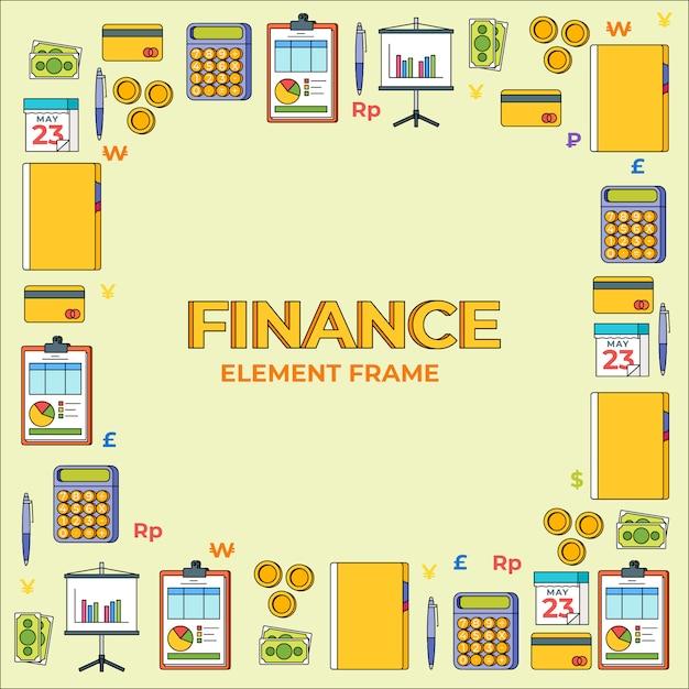 Отдел финансов | Премиум векторы