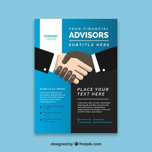 investment advisor magazine logo samples