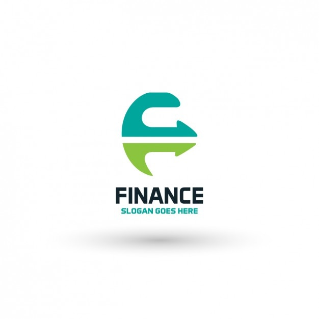 financial company logo template vector free download