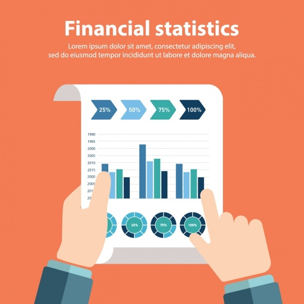 Finance Background: Finance Infographic Vectors, Photos And PSD Files