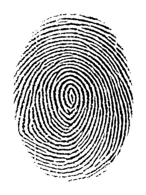 Fingerprint Premium Vector
