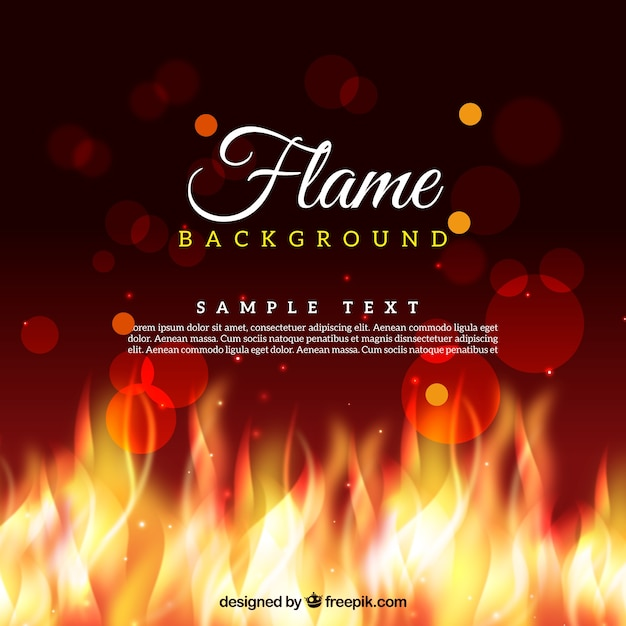 Exhibition Stall Background : Fire bokeh background vector free download