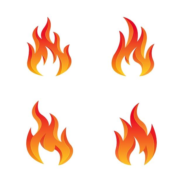 Шаблон логотипа fire design premium Premium векторы