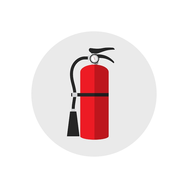 fire extinguisher icon cartoon style single silhouette Helping Hands Logo Logo Design Hand