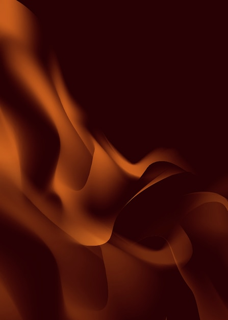 Fire and flame background Free Vector