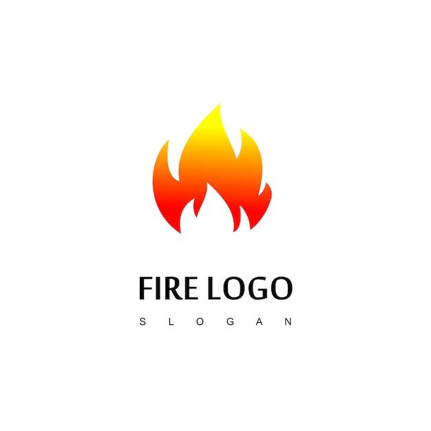 Дизайн логотипа fire logo Premium векторы