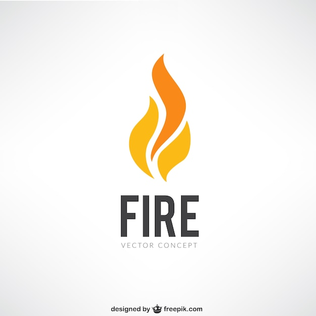 Fire logo Vector | Free Download