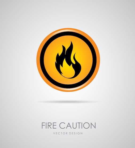 Fire signal Free Vector