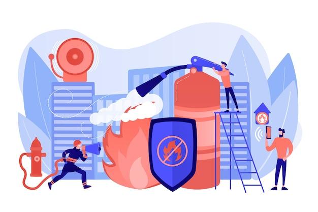 Иллюстрация пожарной безопасности