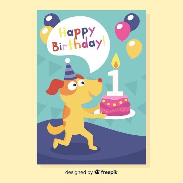 Image result for happy 1st birthday dog